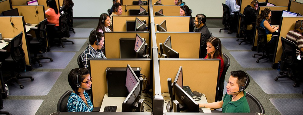 Customer Contact Center – Header